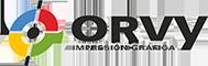 ORVY - Impresión Gráfica logo